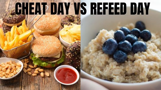 cheat day vs refeed day