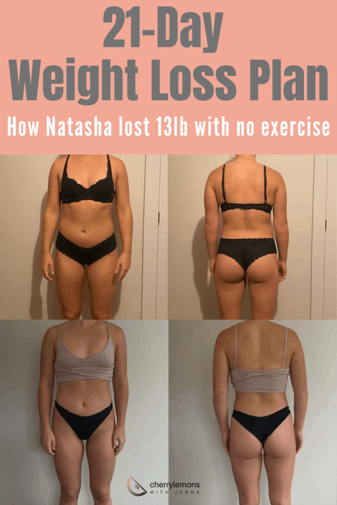 21 day weight loss plan