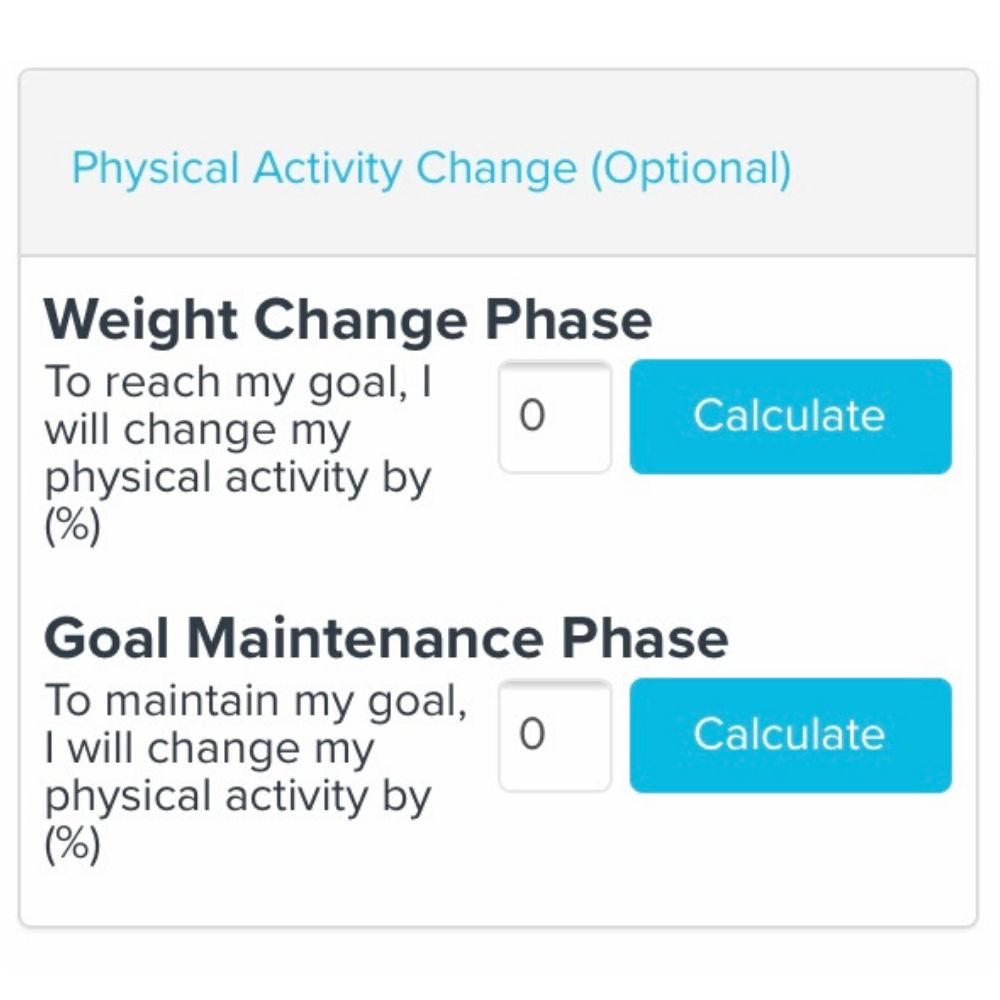 Most accurate weight loss calculator