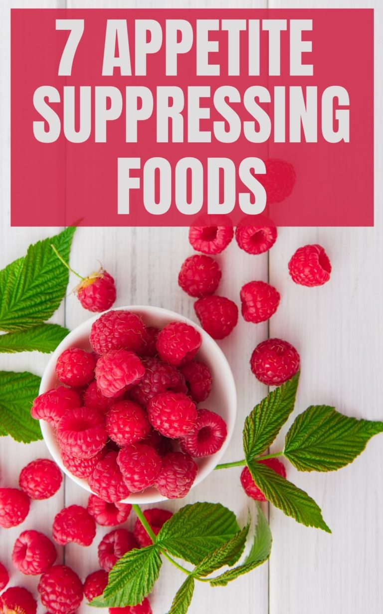 7 Appetite suppressing foods