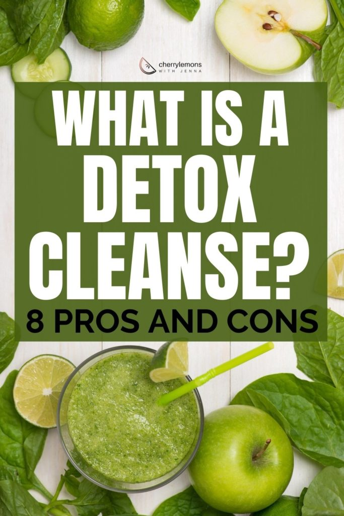 What is a detox cleanse